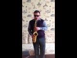 Денис Чекмарёв(Саксофон) Gil Ventura - Bachata Sax