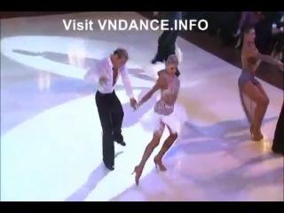 2011 Blackpool Dance Festival Pro Latin - Jive Final