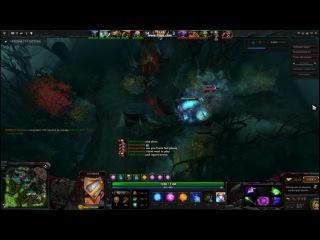 Invoker and Pudge gameplay