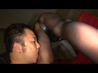 Японское порно - ножки (азиатки, фут-фетиш, нейлон, колготки, секс, порно, 18+)