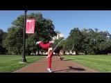 Девятикратная чемпионка мира по прыжкам со скакалкой