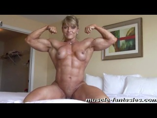 Muscle women | girl | sexy fitness | strong | boobs | bodybuilding