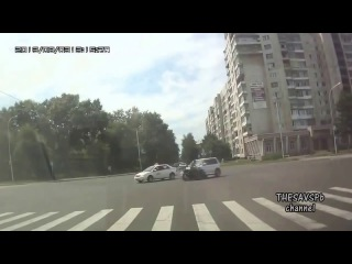 Мото аварии - Обратный отсчёт / Moto accidents, подборка очень жестких ДТП с байкерами с обратной перемоткой, by Thesavspb