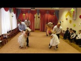 Сюрприз для мам (Олеся танцует с папой)