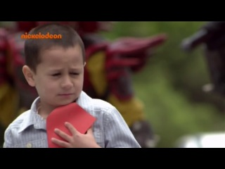 Могучие Рейнджеры Самураи 18 сезон 12 серия Джейден принимает вызов Русская озвучка Nickelodeon 2011 6