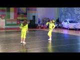 Дуэт Я и Лейсан)Всемирная танцевальная олимпиада по черлидингу 2014)