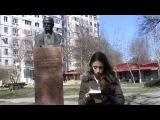 Акция памяти жертв событий на/в Украине (г. Бельцы, 22.03.2014)