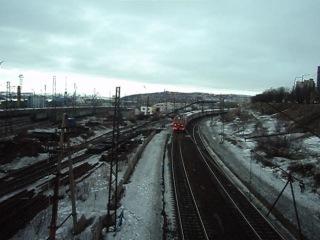 Поезд №92 Мурманск-Москва