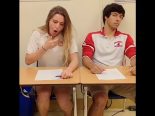 [lele pons] what you wish you can do to those in class that make annoying sounds during a test😤👊