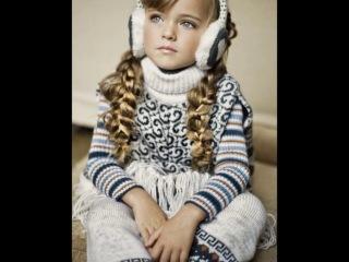 Самая маленькая и красивая девочка))) КРистина пименова будущая модель по русски