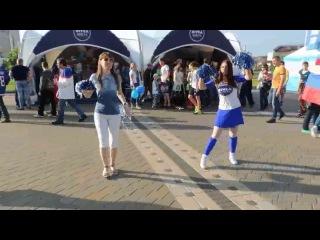 Танцы на ЧМ по хоккею 2014