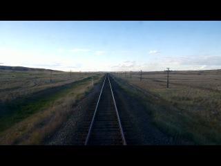 Всегда хотела посмотреть на вид из окна последнего вагона поезда...