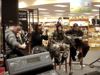 Lacuna Coil-Swamped(live acoustic)