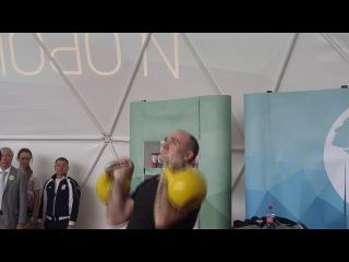 Борис Дубровский сдает нормы ГТО 2014 год