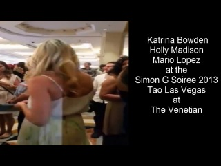 Simon G Soiree 2013 Tao Las Vegas Holly Madison Mario Lopez Katrina Bowden