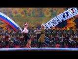 А.Олешко, Е.Гусева, Г.Матвейчук и эстрадная группа
