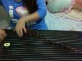 Музыка из сериала Шерлок на китайском народном инструменте Guzheng