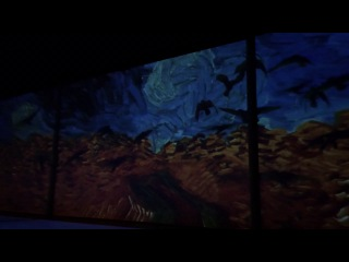 Ван Гог Москва 24.02.2014 Знаменитая выставка Van Gogh Alive, подготовленная австралийской компанией Grande Exhibitions,  представлена широкой публике в центральном зале ARTPLAY.