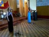 журавли. Анжелика Сычевская и Ксения Попова