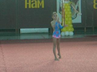 Я с обручем (М.Мариуполь)Художественная гимнастика!