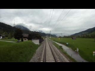Fuhrerstandsmitfahrt Ennstalbahn Bischofshofen - Selzthal komplett