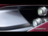 Автомобиль Lexus LF-LC (Лексус ЛФ-ЛС). Видео тест-драйв