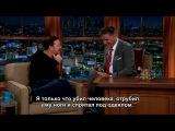 Craig Ferguson 03/12/14 Ricky Gervais с субтитрами