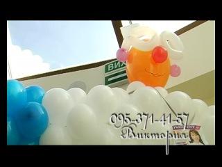 Доктор и зуб из воздушных шаров! ;-)