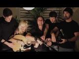 5 человек играют на одной гитаре Gotye feat. Kimbra – Somebody That I Used To Know