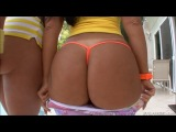 Kelly Divine and Monica Santhiago - Big Asses