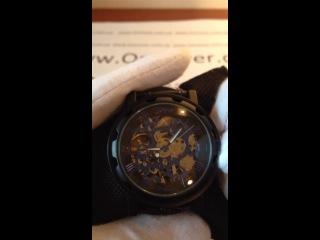 Часы механические Winner Automatic Full Black от Интеренет Магазина наручных часов www.OnCover.com.ua