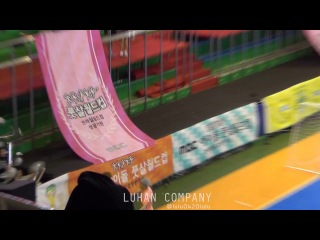 [FANCAM] 140526 EXO's Luhan & Xiumin: Idol Star Athletics Championship @ Luhan & Xiumin focus (1)