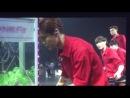 [FANCAM] 140411 EXO: Luhan vs Xiumin @ Greeting Party in Japan 'Hello'