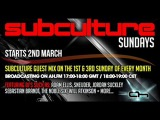 John OCallaghan - Subculture Sundays Adam Ellis Guest March 2nd on AH. FM (02-03-2014). [Trance-Epocha]