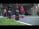 Дрифт, гонки на радиоуправляемых машинах.