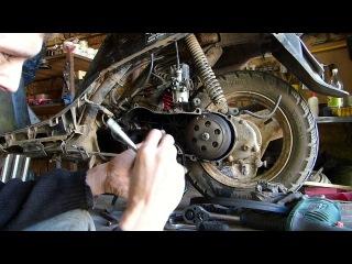 Новый формат-Honda Tact 24.Тяжёлый на подъём