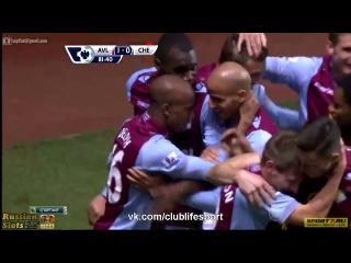 Астон Вилла 1:0 Челси | Гол Делфа