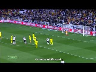 Валенсия 2:1 Вильярреал | Обзор матча