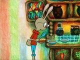 Винни Пух в гостях у кролика