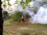 взрыв дымовой шашки 2