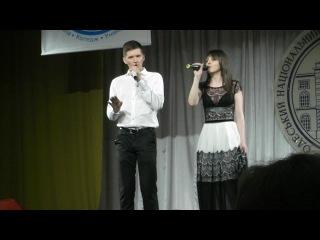 Андрей Мацидонский и Наташа Чербаджи - Нет тебя (24.04.14)