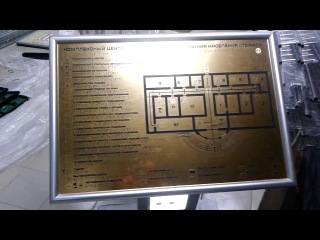 тактильно -звуковая мнемосхема внутри зданий и сооружений