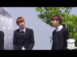 [FANCAM]140505 INFINITE (Sunggyu) @MBC New Life For Children Rehearsals