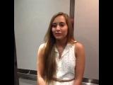 Когда горячая девушка заходит в лифт... (Vine)