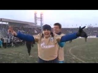 Данко Лазович (Сербский футболист Зенита) - Россия это наша братская земля!
