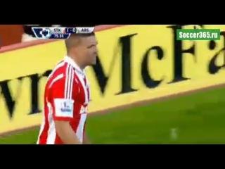 Обзор матча Сток Сити Арсенал 1 0