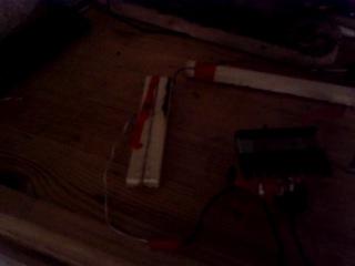 Самодельный трансформатор и дуга от него