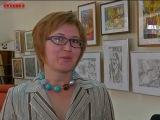 Гоголевка - Выставка сестер Шушаковых [ТВН 13.05.2014] Библиотека Гоголя. Новокузнецк