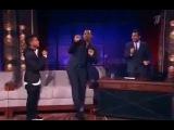 Уилл Смит и его сын Джейден Смит в эфире Вечерний Ургант Танец -D