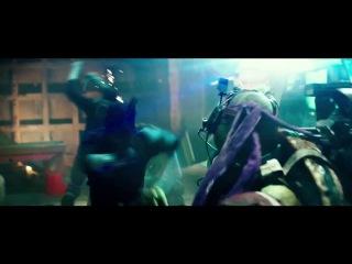 Черепашки-ниндзя. Первый русский тизер-трейлер. Teenage Mutant Ninja Turtles 2014